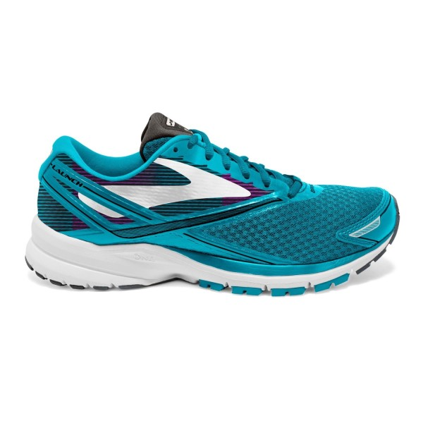 Brooks Launch 4 - Womens Running Shoes - Teal Victory/White/Black