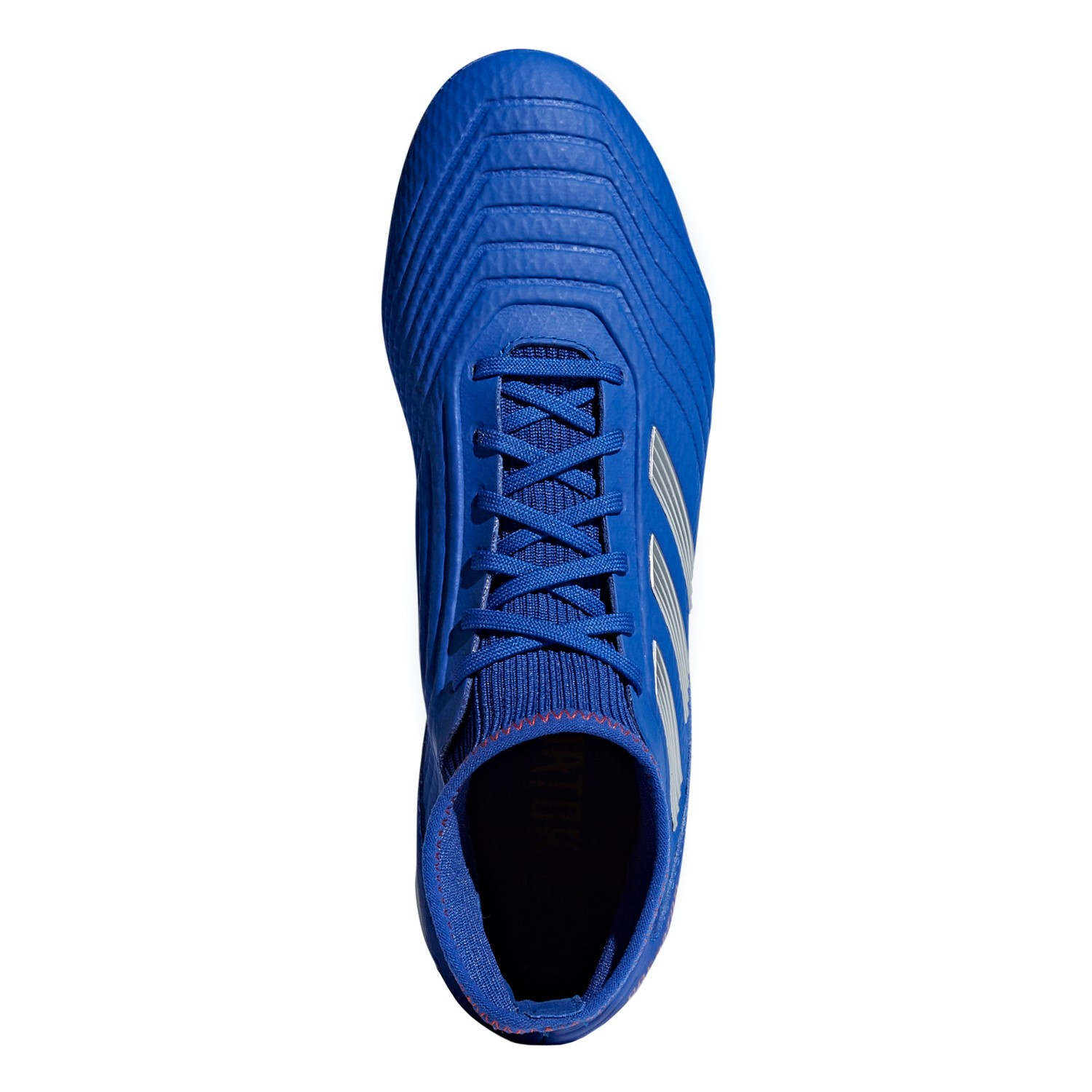 6669823d7b4 Adidas Predator 19.3 Firm Ground - Mens Football Boots - Bold Blue Silver  Active
