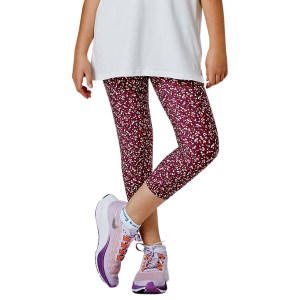 Running Bare Bare Fit Kids Girls 3/4 Running Tights