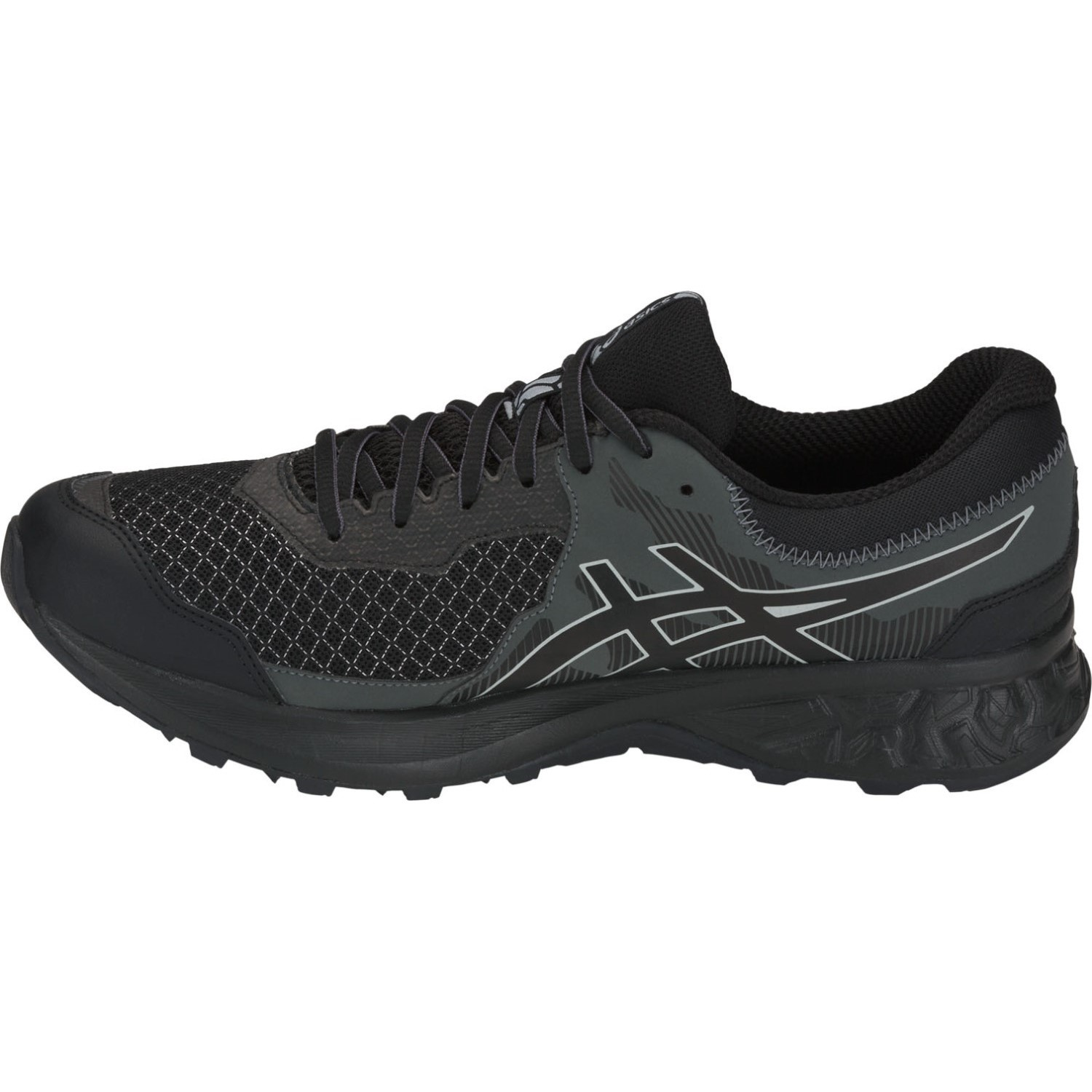 the latest fadb7 3977d Asics Gel Sonoma 4 GTX - Mens Trail Running Shoes - Black/Stone Grey ...
