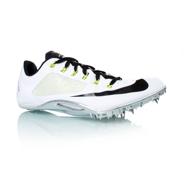 reputable site 715cf c09d5 Nike Zoom Superfly R4 - Mens Racing Shoes - White Black Volt