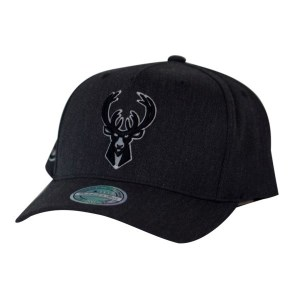 Mitchell & Ness NBA Milwaukee Bucks Charcoal Basketball Cap