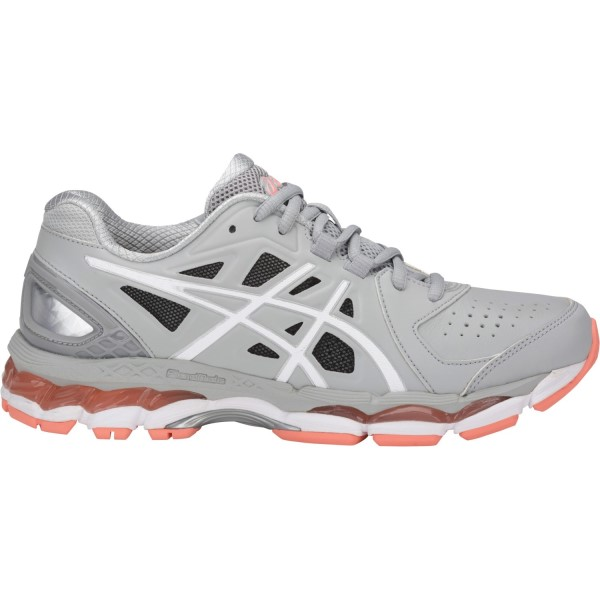Asics Gel 800XTR - Womens Cross Training Shoes - Mid Grey/White/Begonia Pink