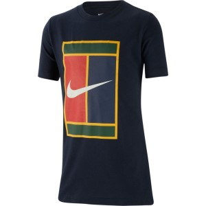 Nike Court Heritage Kids Tennis T-Shirt