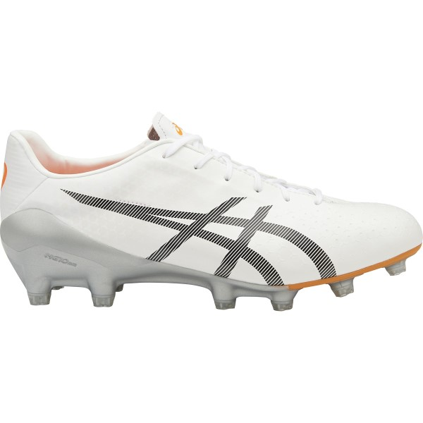 Asics Menace - Mens Football Boots - Pearl White/Black/Silver