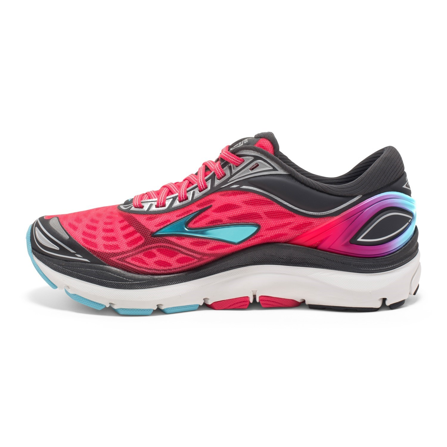 11f7bc084cd28 Brooks Transcend 3 - Womens Running Shoes - Diva Pink Blue Fish ...