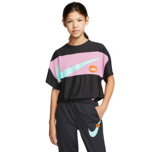 Nike Icon Clash Kids Girls Short Sleeve Training Top