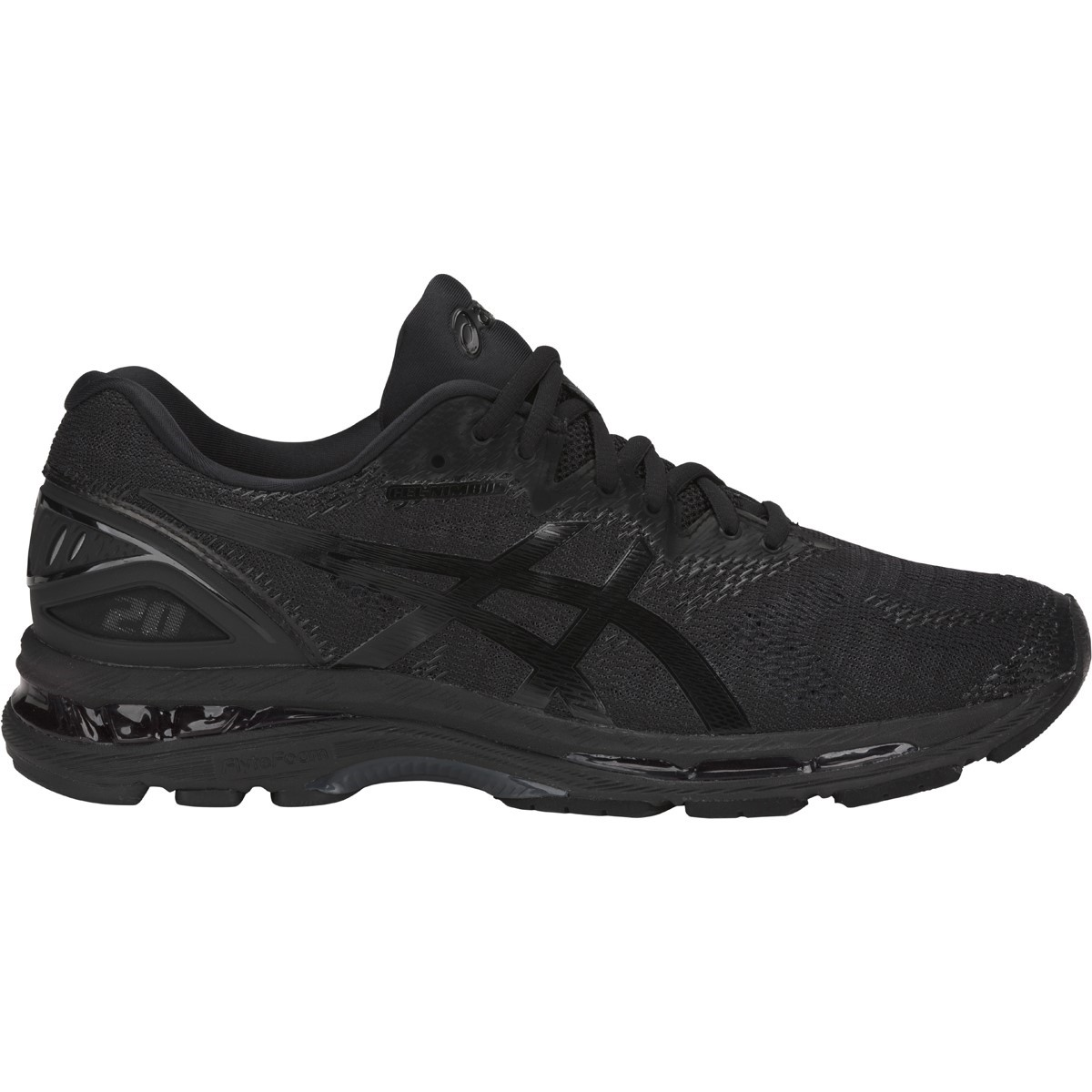 505d8f28d4db Asics Gel Nimbus 20 - Mens Running Shoes - Black Carbon
