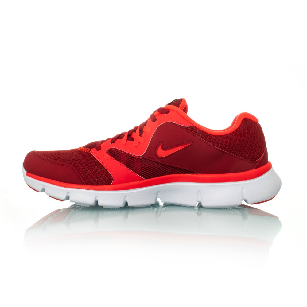 Red Nike Flex Experience RN 3 MSL Running Lightweight Mens