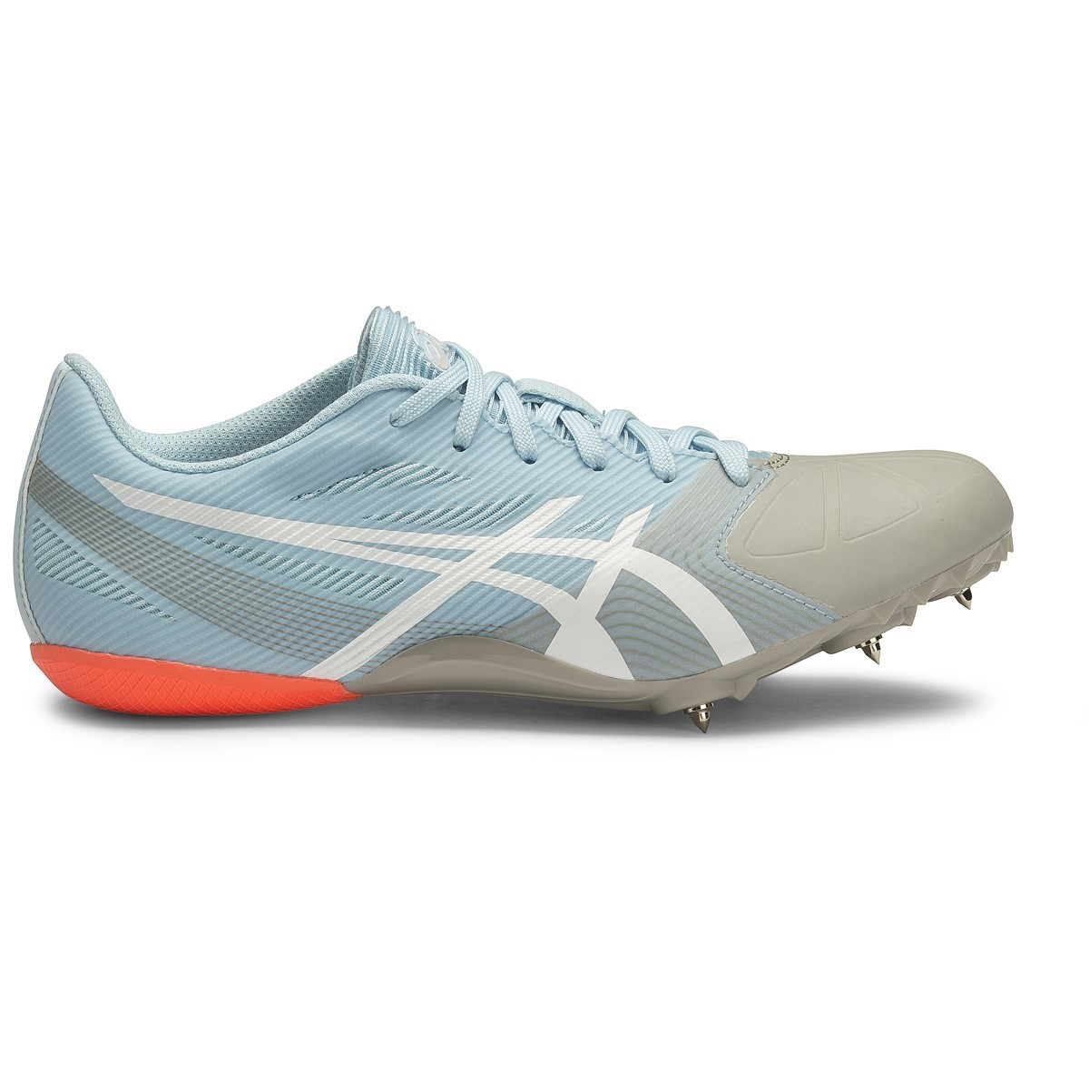 Asics hyper rocketgirl sp 6 womens sprint track spikes milk blue asics hyper rocketgirl sp 6 womens sprint track spikes milk bluewhite aloadofball Image collections