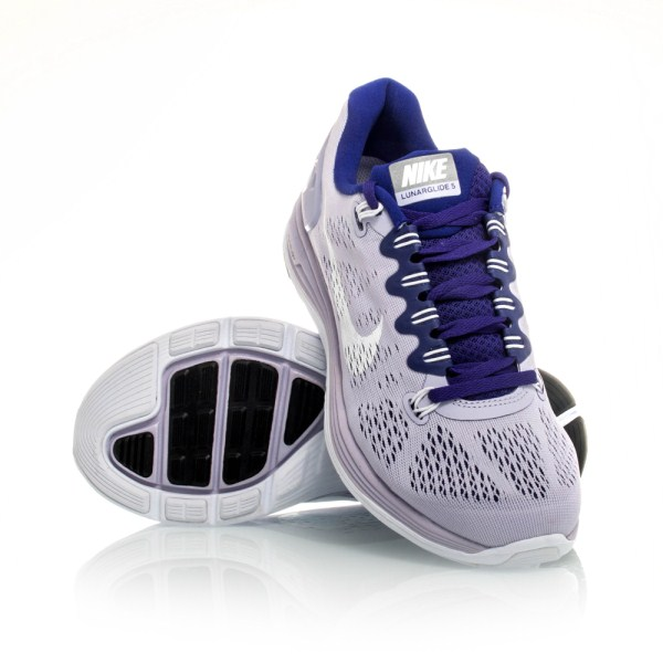 04c3cf3f223b4 Nike LunarGlide+ 5 - Womens Running Shoes - Violet Purple White ...