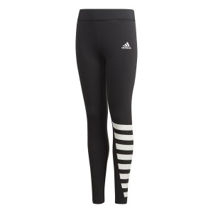 Adidas ID Kids Girls Training Tights - Black/White