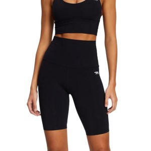 Running Bare Spin Class Womens Bike Short Tights
