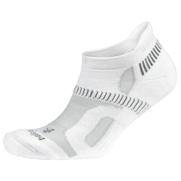 Balega Hidden Contour Running Socks - White