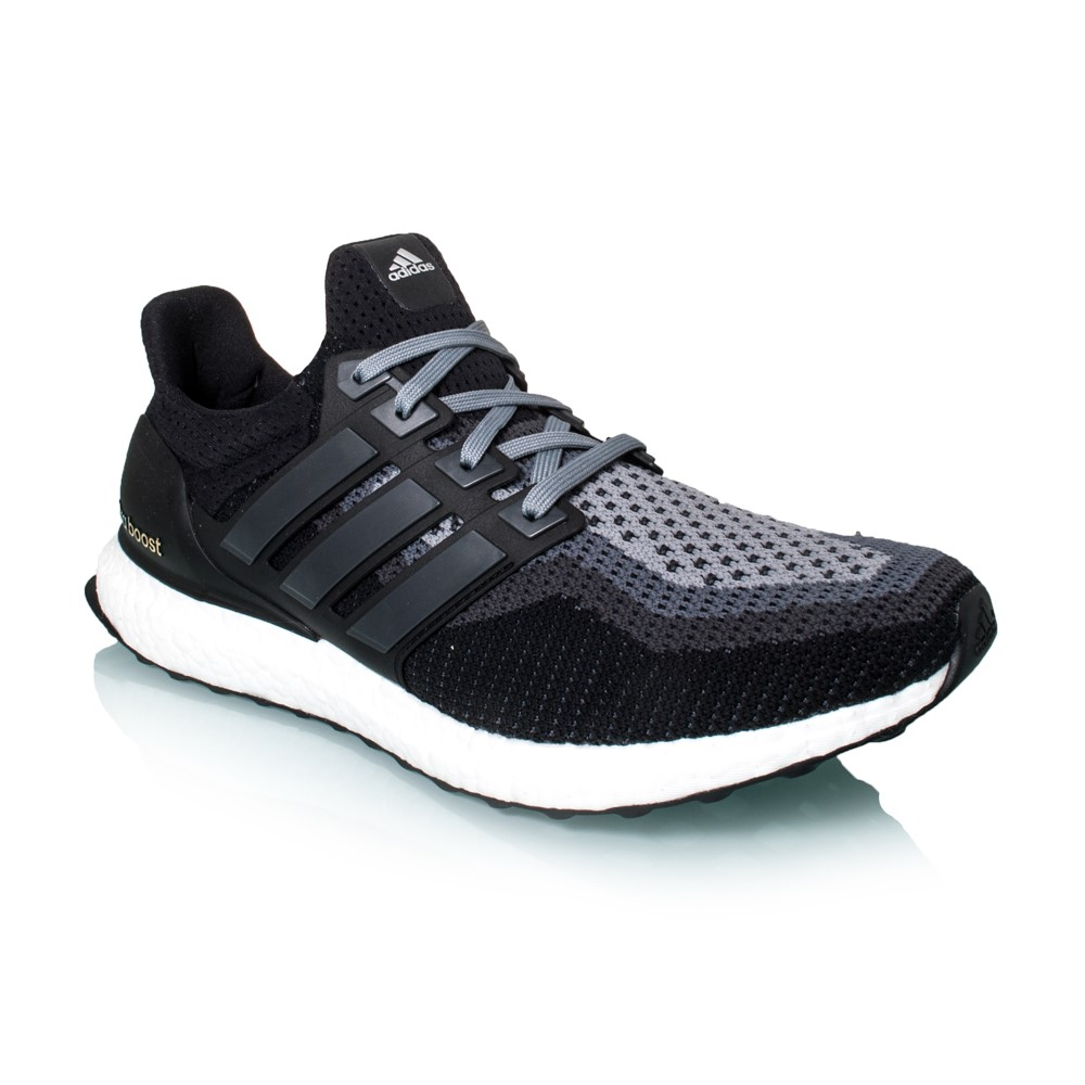 Adidas Ultra Boost - Mens Running Shoes - Black/Silver