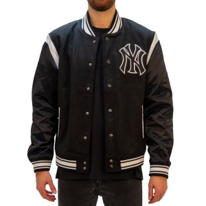 Majestic Athletic New York Yankees College Mens Baseball Jacket