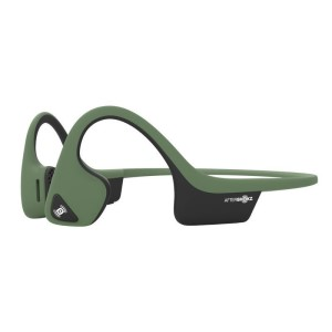 AfterShokz Trekz AIR Bone Conduction Open Ear Headphones - Forest Green