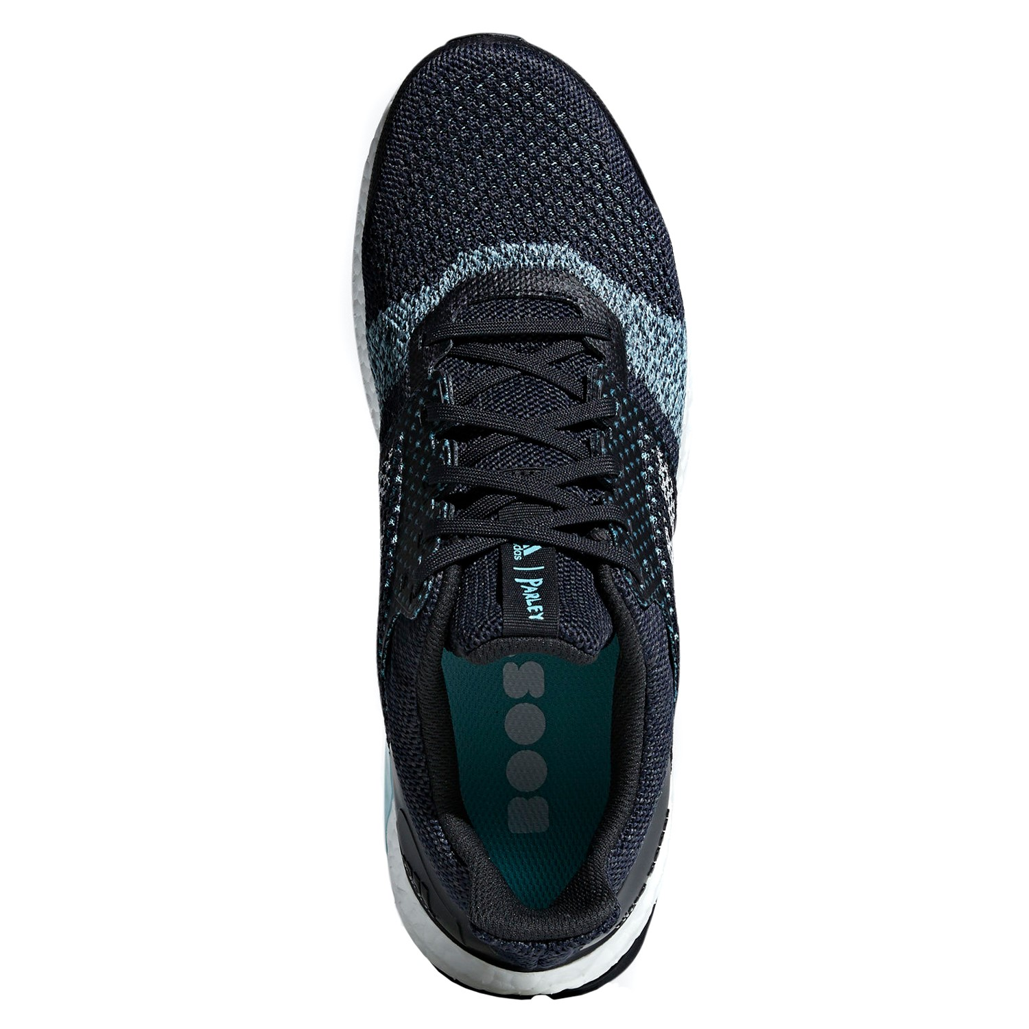 on sale 9cf6e 9e8ef Adidas UltraBoost ST Parley - Mens Running Shoes - Legend Ink Clear  Mint High