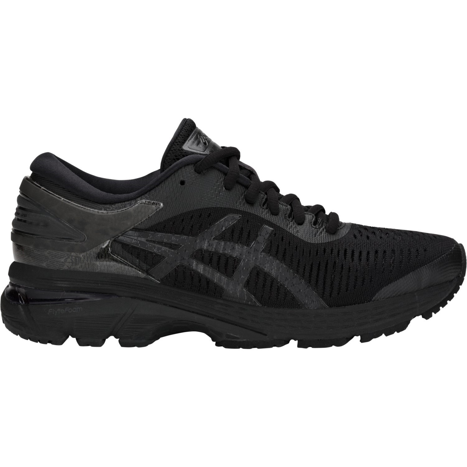 5477fba3a12d5 Asics Gel Kayano 25 - Womens Running Shoes - Triple Black