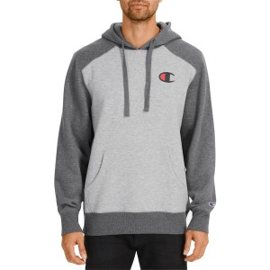 Champion C Logo Two Tone Mens Casual Hoodie