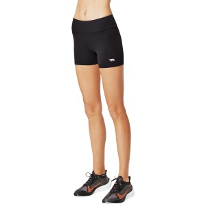 Running Bare High Rise 4 Inch Womens Sport Short Tights