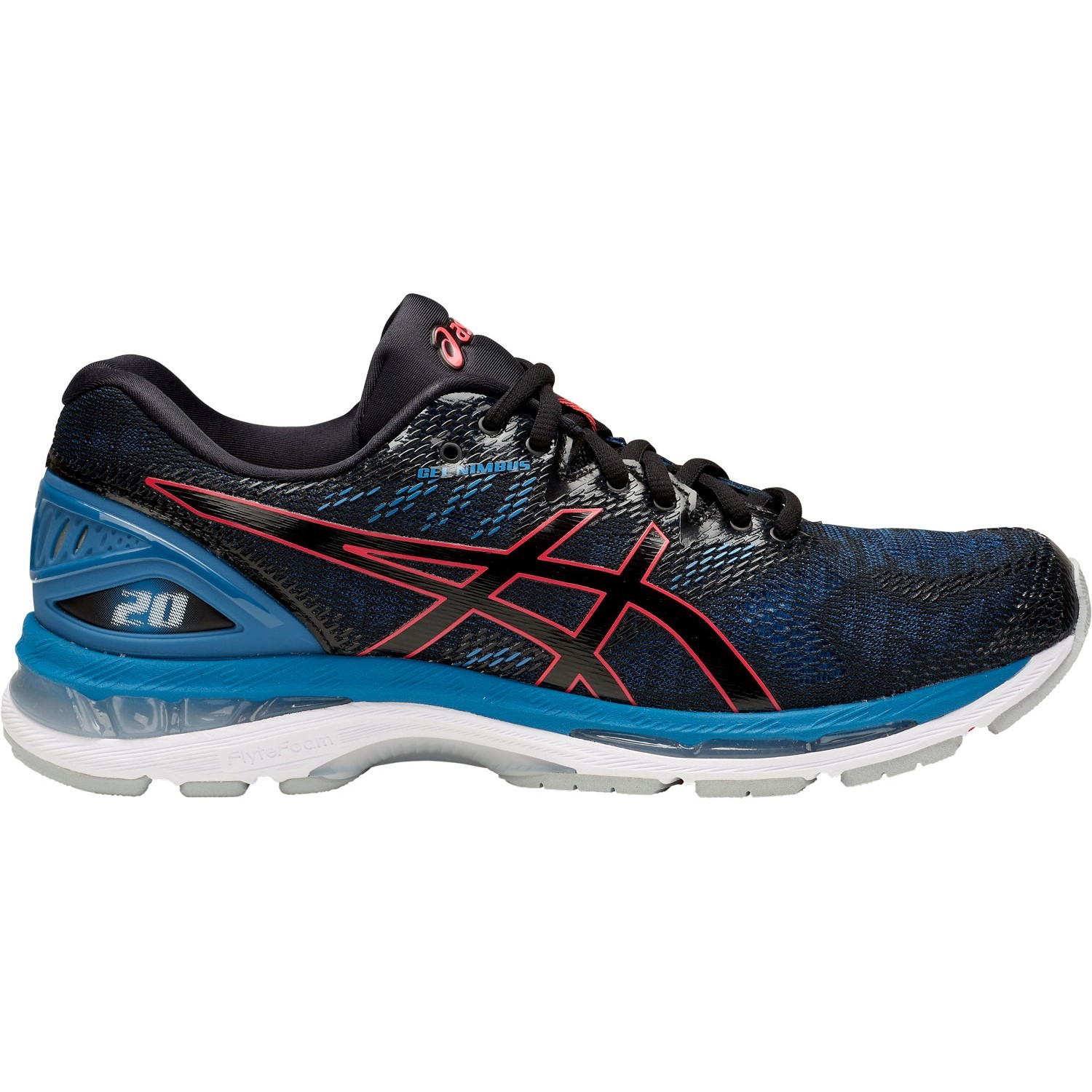 1fc0072a172 Asics Gel Nimbus 20 - Mens Running Shoes - Azure Red