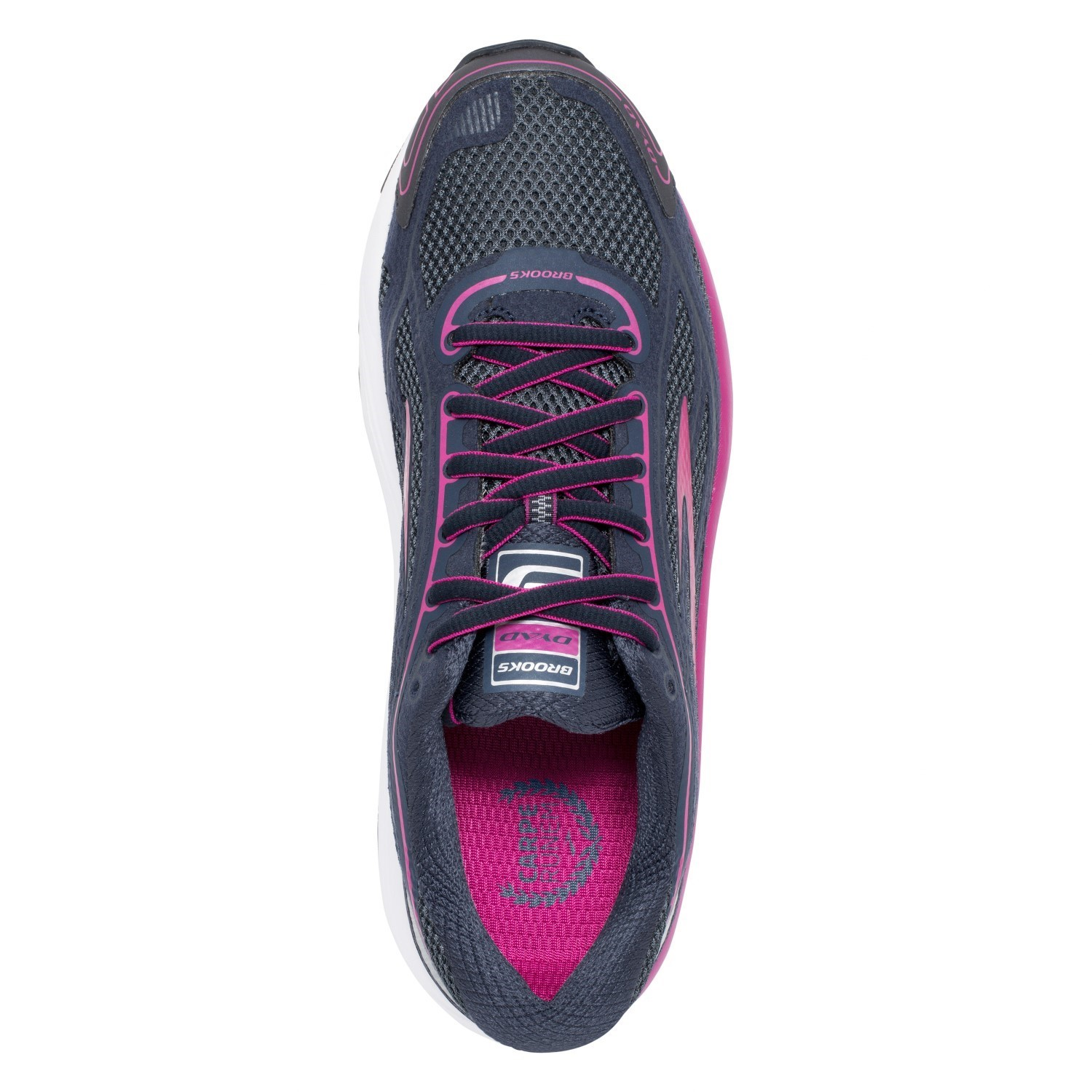 e05792da8725e Brooks Dyad 9 - Womens Running Shoes - Festival Fuchsia Ombre Blue ...