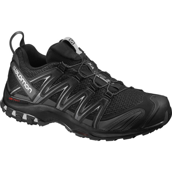 Salomon XA Pro 3D - Mens Trail Hiking Shoes - Black/Magnet/Quiet Shade