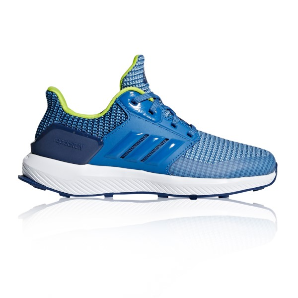 Adidas RapidaRun - Kids Boys Running Shoes - Ash Blue/Trace Royal/Noble Indigo