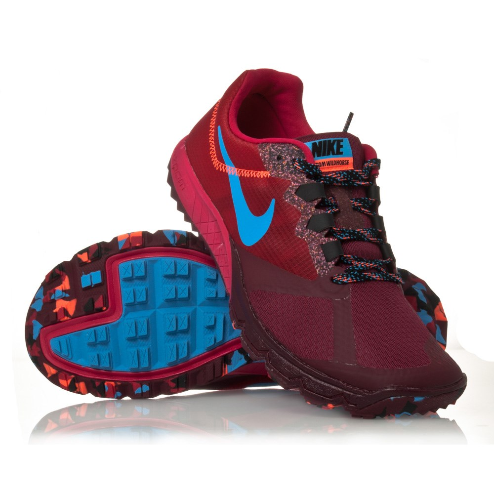 free shipping 34f91 462a1 ... sale nike zoom wildhorse 2 womens trail running shoes fuchsia force  university blue 118f5 0f0cc