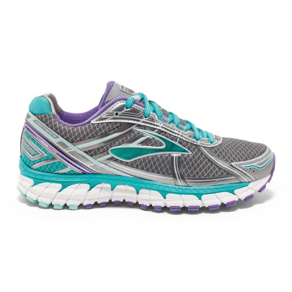 Brooks Defyance 9 - Womens Running Shoes - Anthracite/Passion Flower
