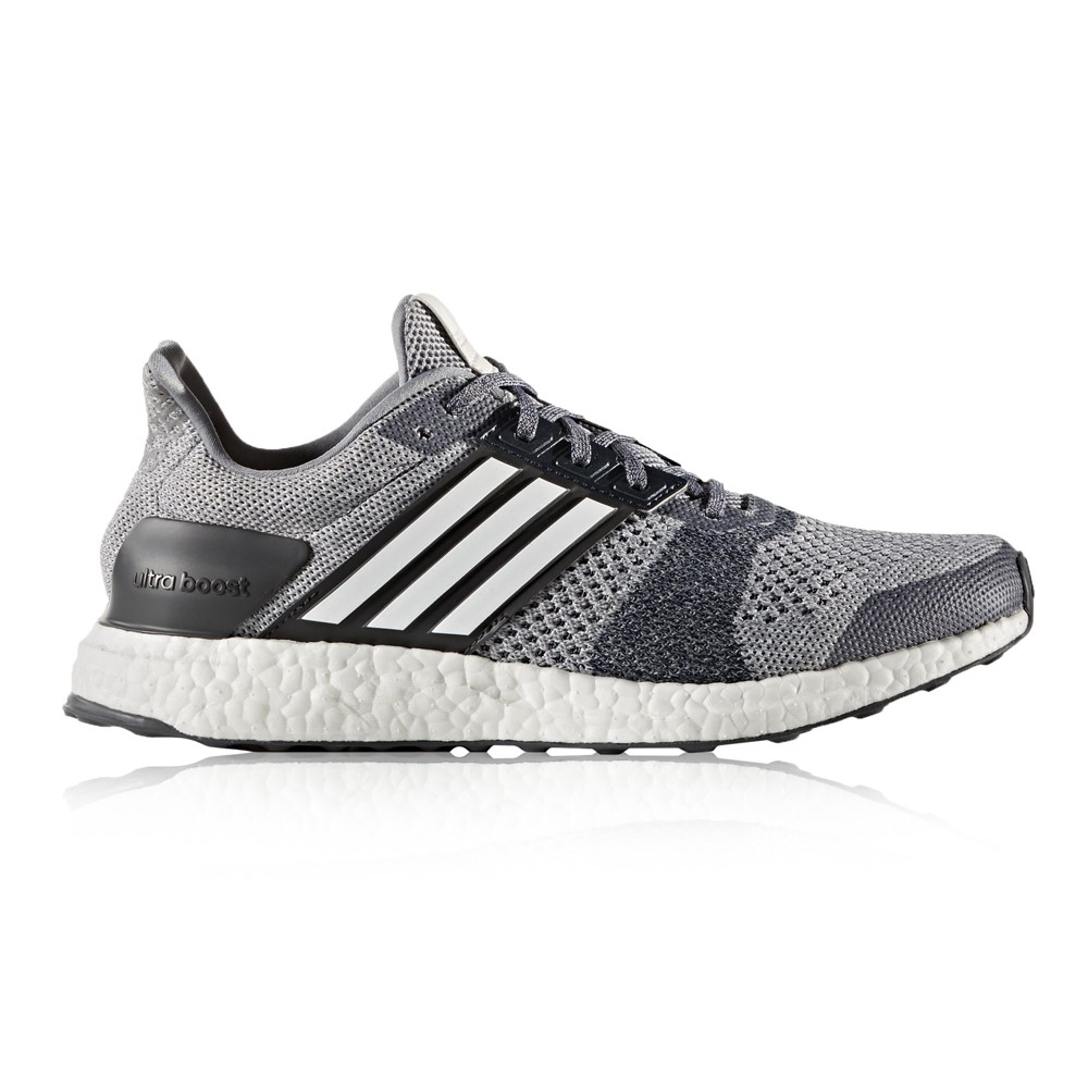 Adidas Ultra Boost St Mens Running Shoes Grey