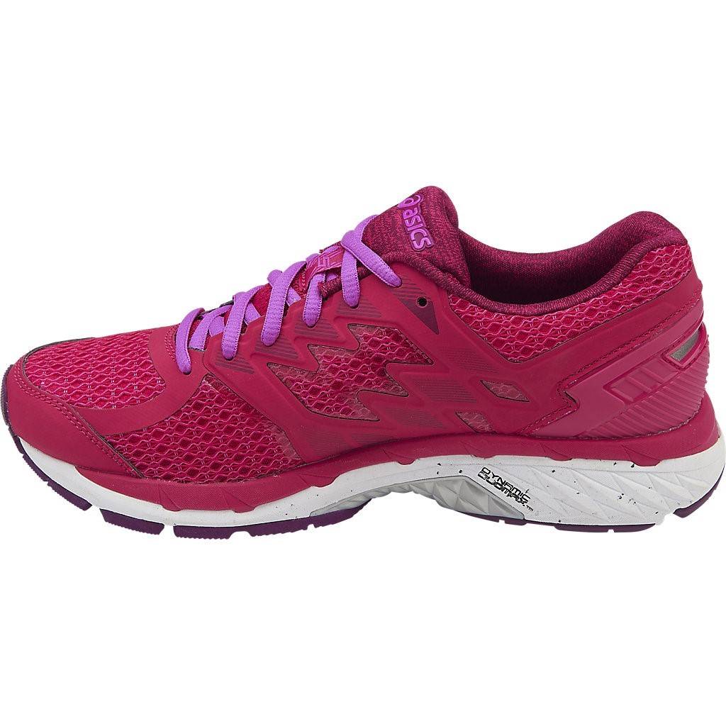 asics gt 3000 5 womens running shoes bright rose white. Black Bedroom Furniture Sets. Home Design Ideas