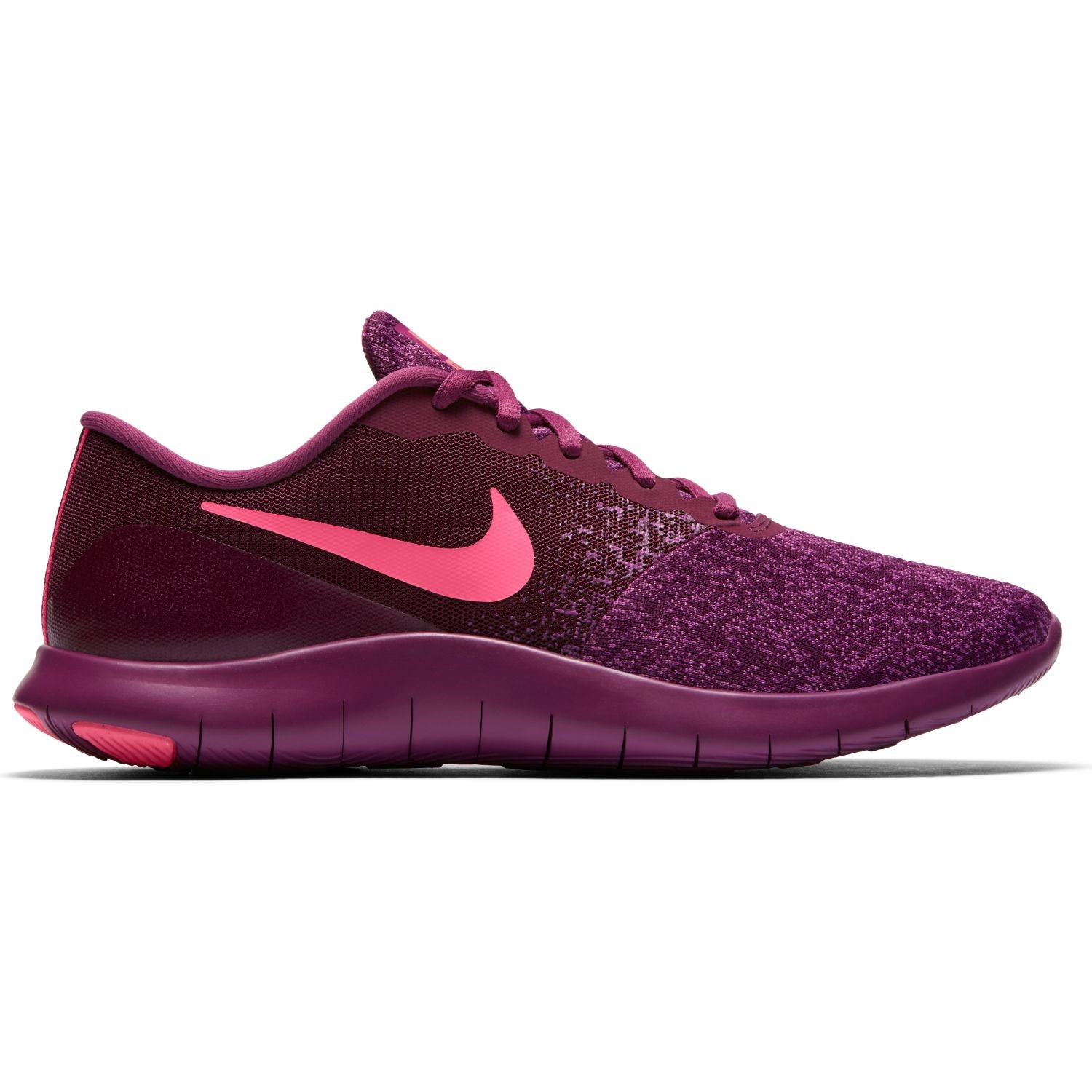 Nike Flex Contact - Women Running Shoes - Bordeaux Pink Nebula Tea Berry 51ee92301