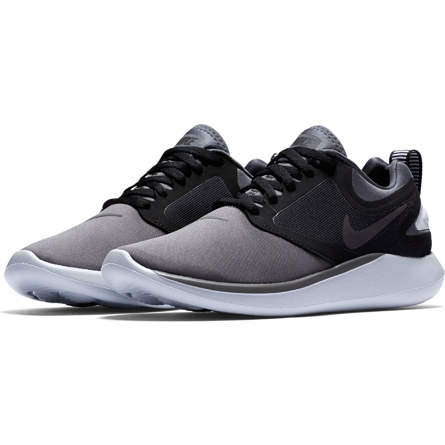 6a710245b84 Nike Lunarsolo GS - Kids Boys Running Shoes - Dark Grey Black ...