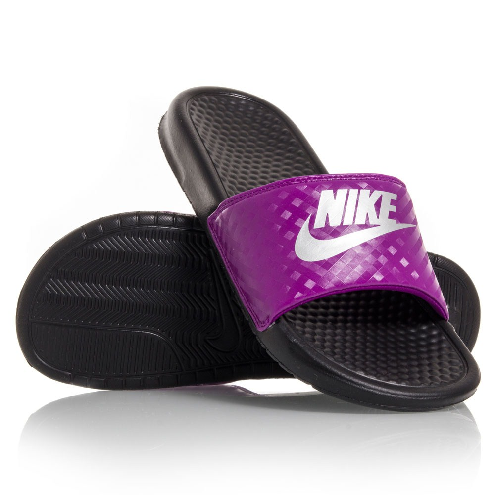 Wonderful Nike Benassi JDI - Womens Slides - Blue/Black Online | Sportitude