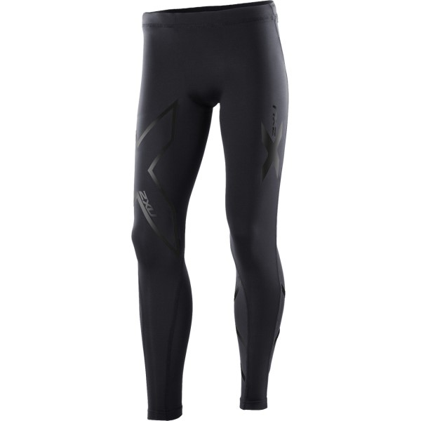 2XU Kids Boys Compression Long Tights - Black/Nero