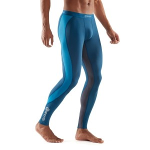 Skins DNAmic Mens Compression Long Tights + Free Gym Bag