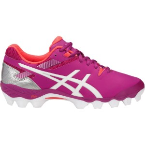 5a61b46114dc5 Asics Gel Lethal Touch Pro 6 - Womens Turf Shoes - Rouge Red White