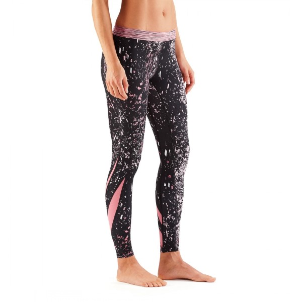 Skins DNAmic Womens Compression Long Tights - Stardust