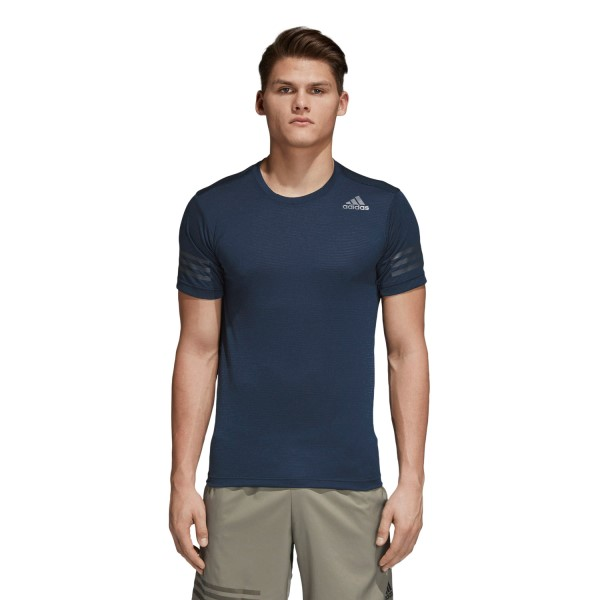 Adidas FreeLift Climacool Mens Training T-Shirt - Collegiate Navy