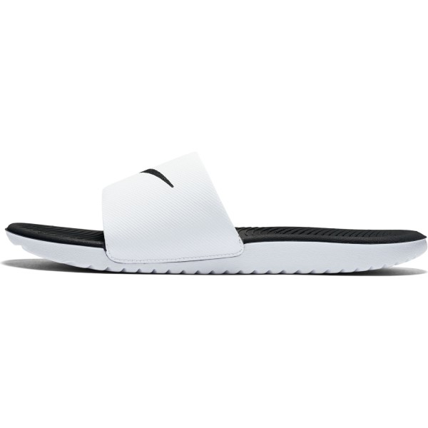 a6326fa561d615 Nike Kawa Slide - Mens Slides - White Black