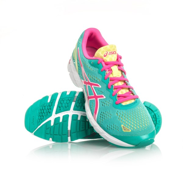 bf9d46f299f7 Asics Gel DS Trainer 19 - Womens Running Shoes - Emerald Hot Pink ...