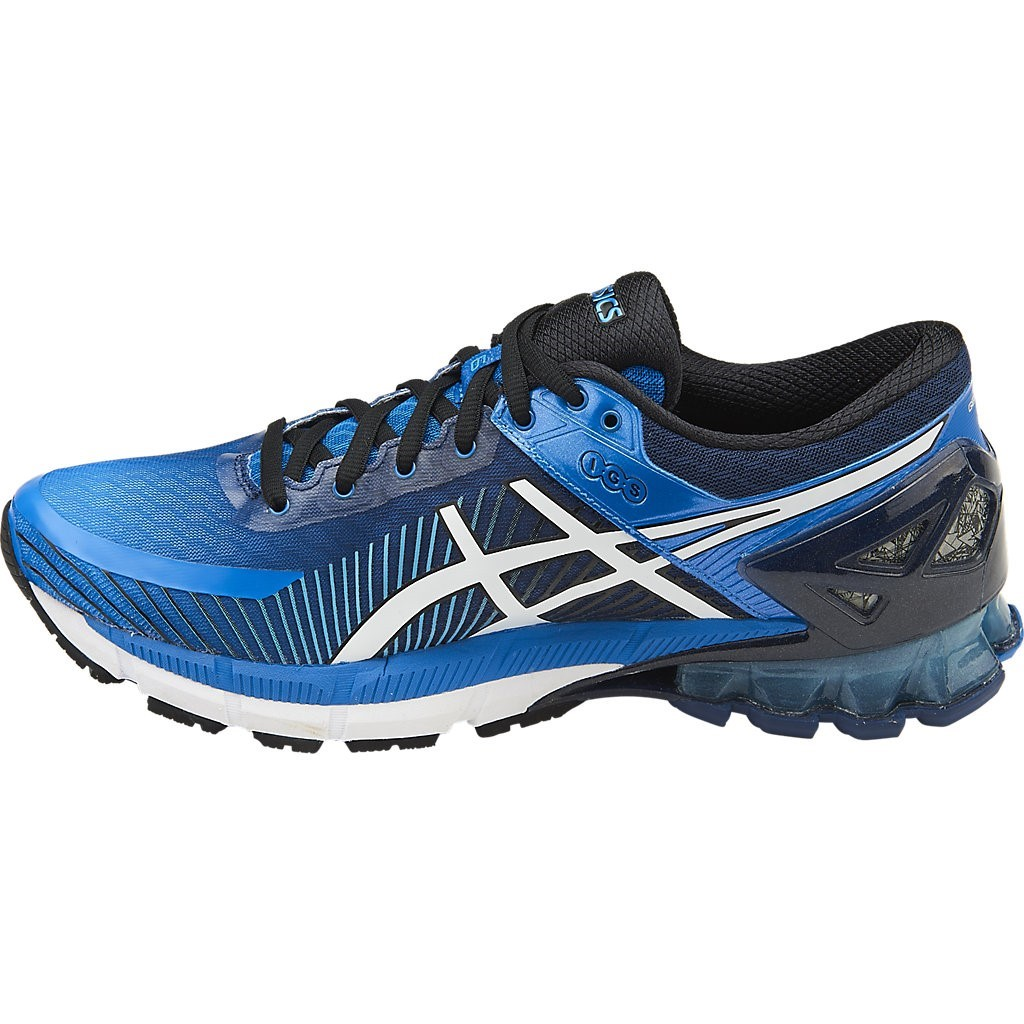 asics kinsei 6 mens running shoes electric blue off. Black Bedroom Furniture Sets. Home Design Ideas