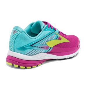 Brooks Ravenna 8 - Womens Running Shoes - Berry/Aqua Splash/Lime