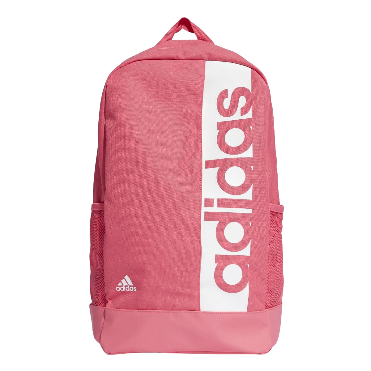 3acd79ca04c6 Adidas Linear Performance Backpack Bag - Real Pink White