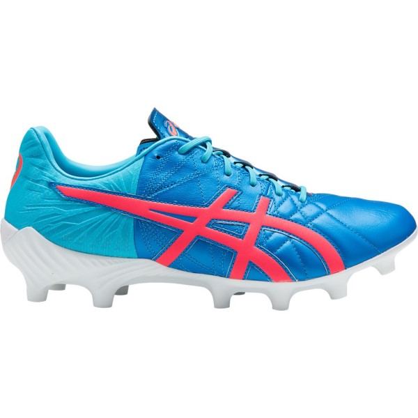 Asics Lethal Tigreor IT FF - Mens Football Boots - Directoire Blue/Flash Coral/Aquarium