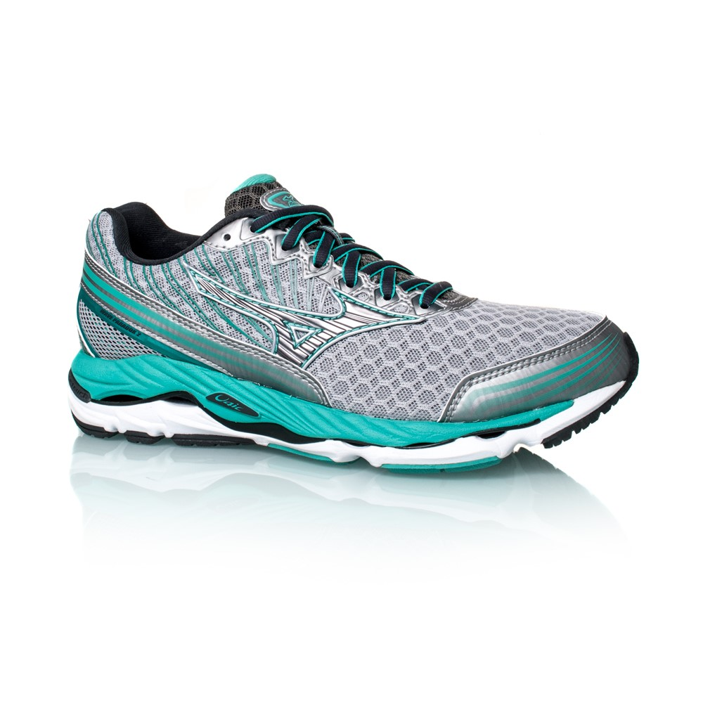 909c360a32f1 Mizuno Wave Paradox 2 - Womens Running Shoes - Silver/Waterfall Blue ...