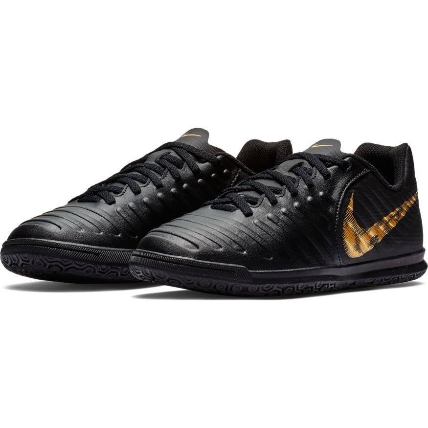 d671deba34c Nike Jr Tiempo LegendX VII Club IC - Kids Indoor Soccer Futsal Shoes - Black
