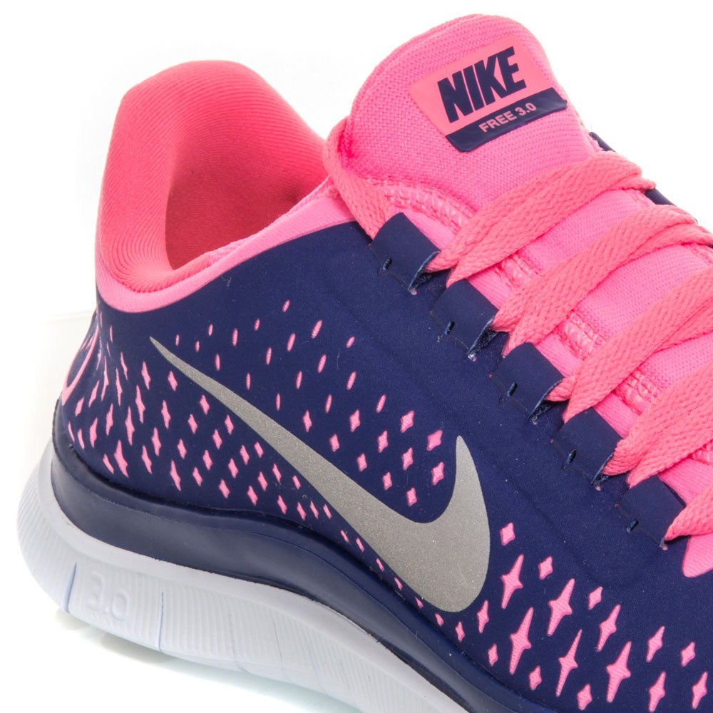 nike free run 3.0 v4 purple and pink